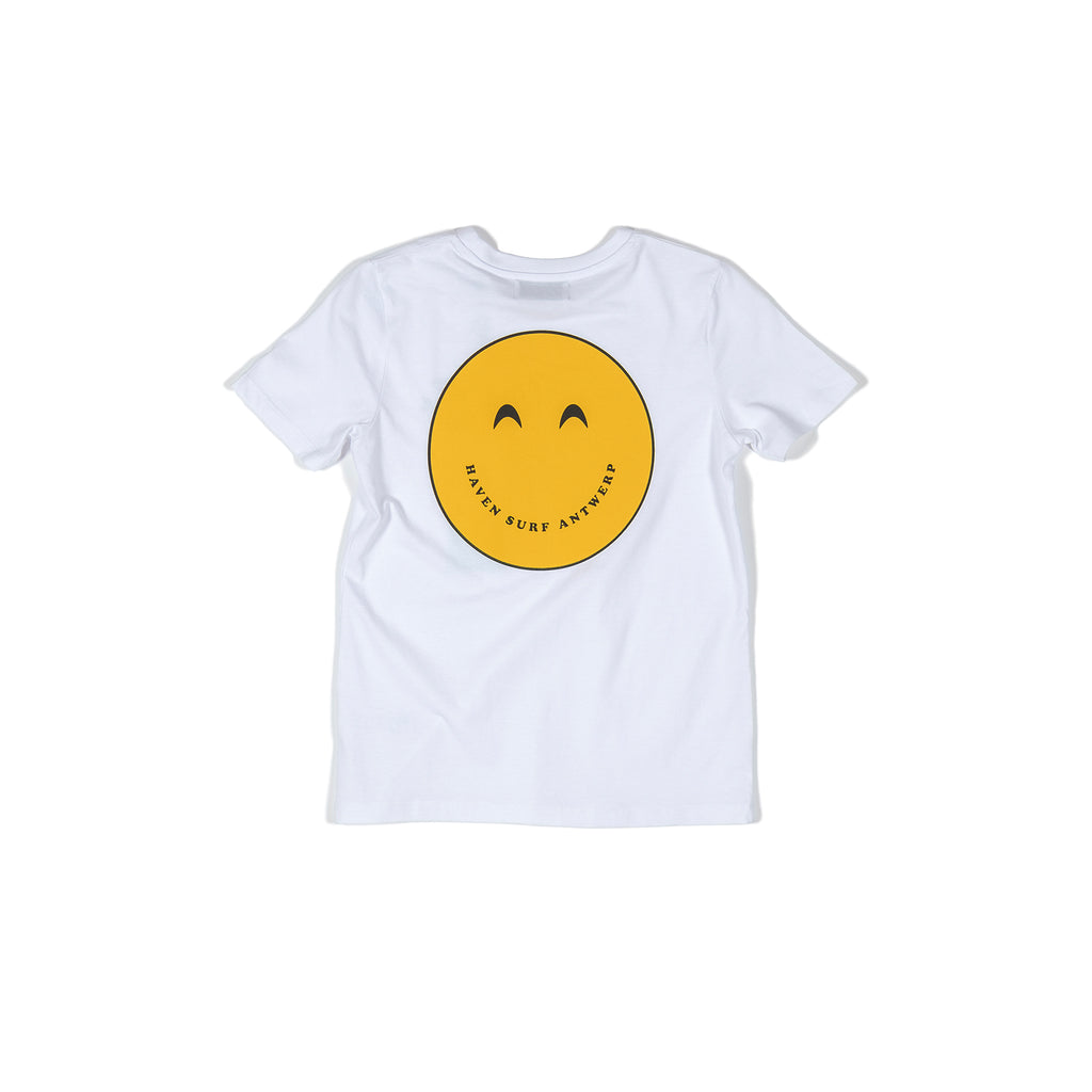 H A V E И - Keep Surfing Fun Smiley Tee (kids) - White