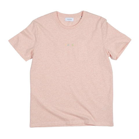HAVEN - Northsea Tee - Cream Heather Pink
