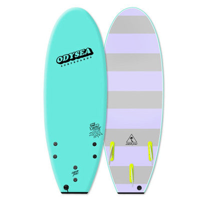 "Catch Surf - ODYSEA Stump 5'0"" (Thruster) - Turquoise"