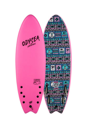 Catch Surf - Odysea - 5'6 Skipper Quad x Jamie O'Brien Pro - Hot Pink