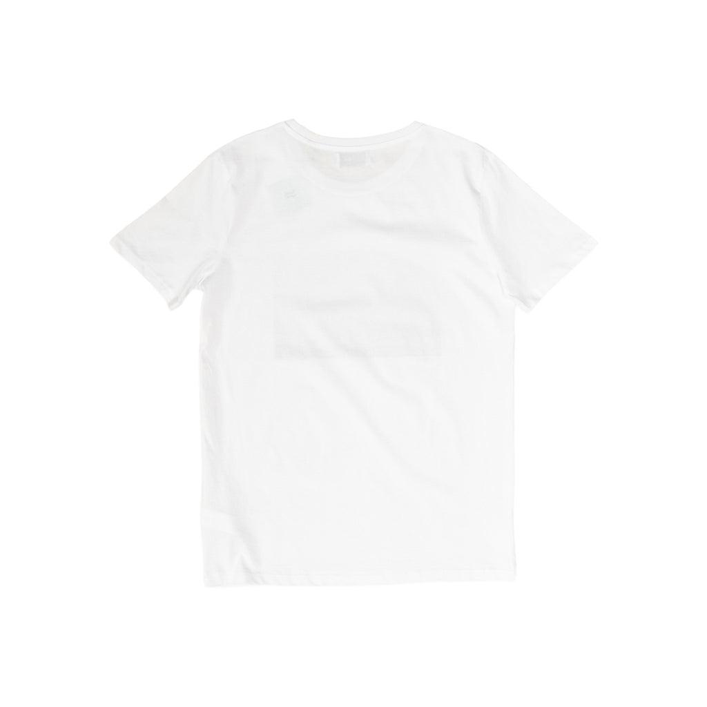 H A V E И x Wouter Struyf T-Shirt - White w/Black/White and Color Print