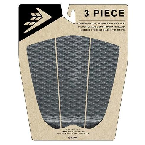 Firewire - 3 Piece Arch Traction Pad - Charcoal/Black