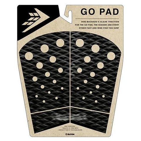 Firewire - 4 Piece Go Pad - Black/Charcoal