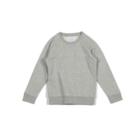H A V E И - Northsea Sweat (Kids) - Heather Grey