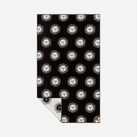 Slowtide - Slow Burn Towel - Black