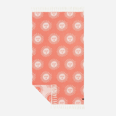 Slowtide - Sunny Towel - Red
