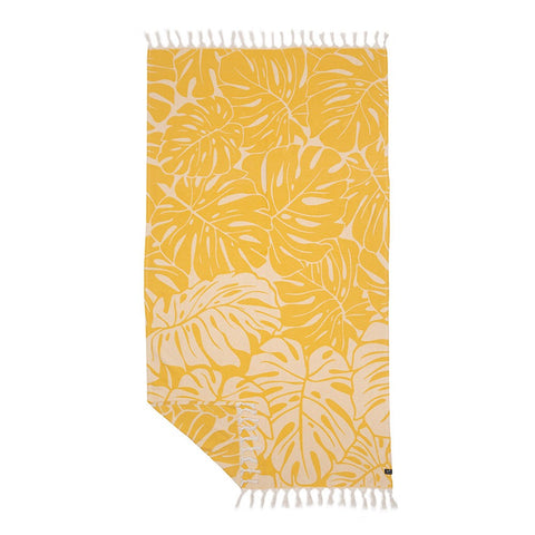 Slowtide - Tarovine Turkish Towel - Mustard