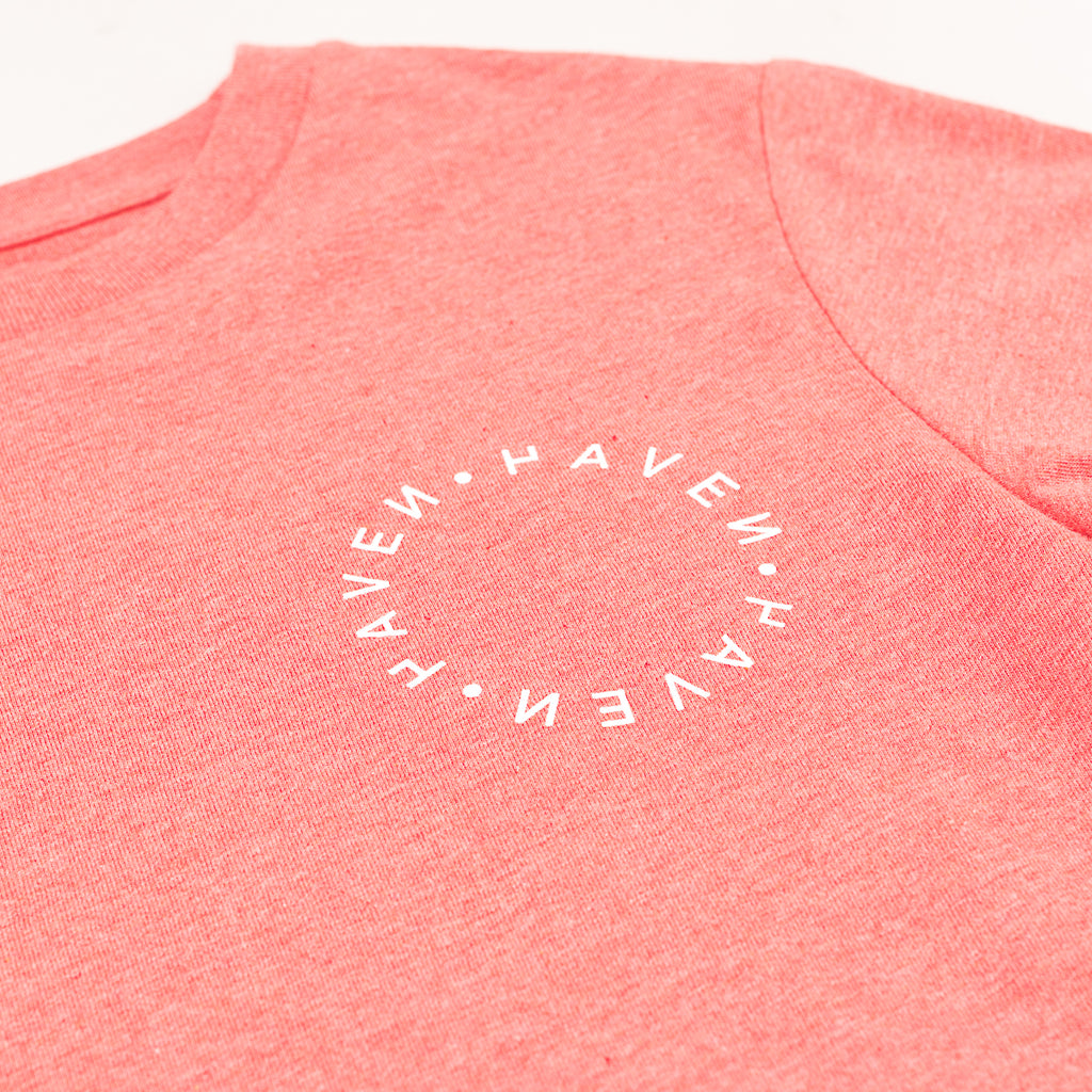 Antwerp Surf Club tee (kids) - Coral Red