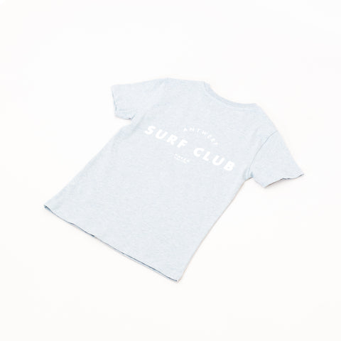 Antwerp Surf Club tee (kids) - Ice Blue