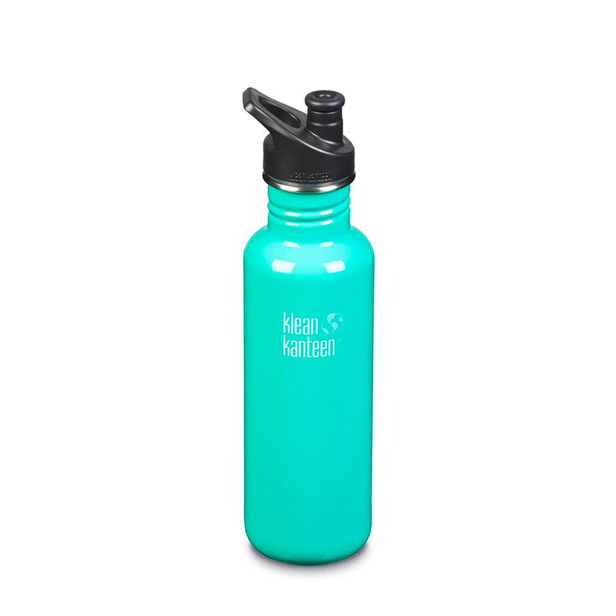 Klean Kanteen - Classic 27oz with Sport Cap 3.0 (800ml) - Sea Crest