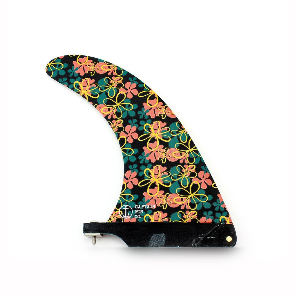 Captain Fin - Slasher Flowers 6.5 single fin