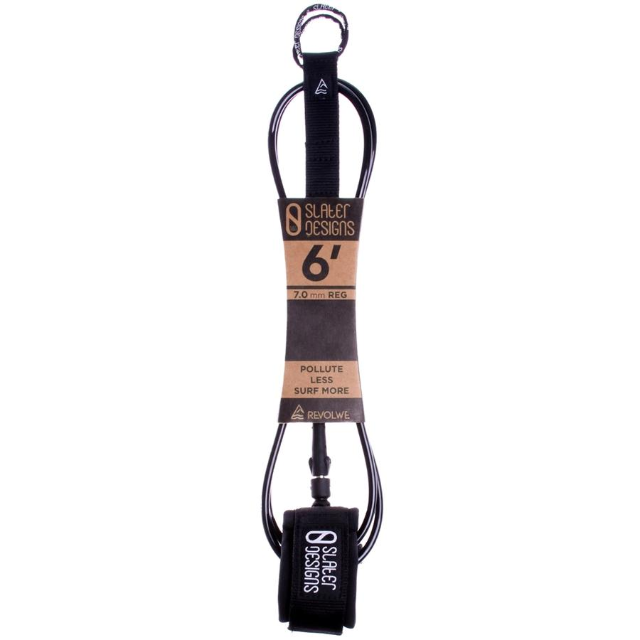 "Firewire - Slater Designs 6'0"" Regular Leash - Black"