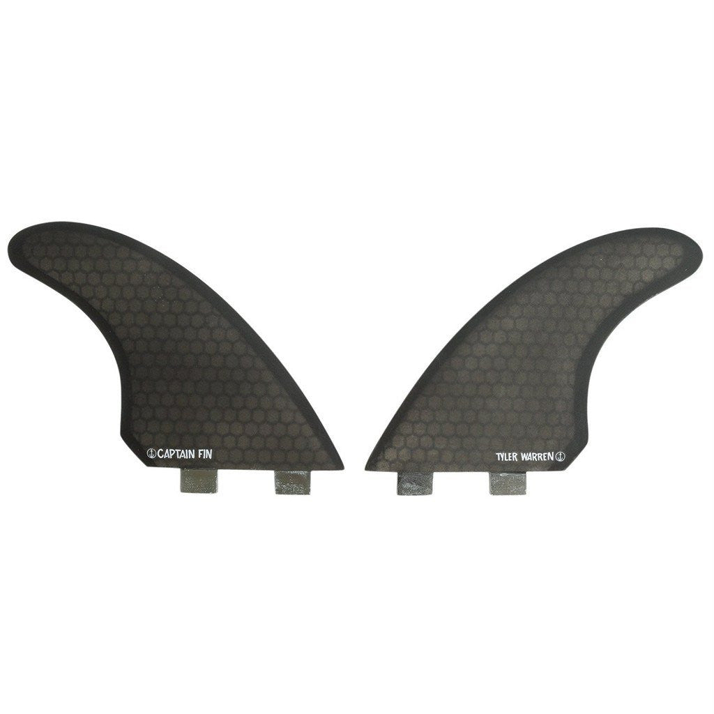 "Captain Fin - Twin, Tyler Warren 5.51"" FCS (set of 2)"