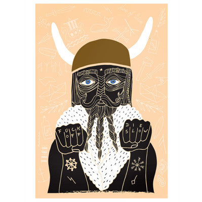 Viking Sailor' Art Print