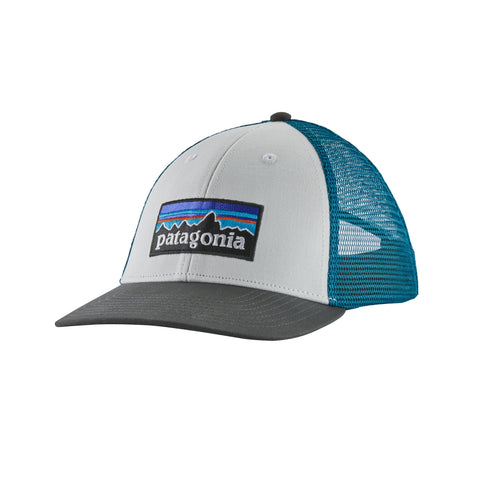 Patagonia - P-6 Logo LoPro Trucker Hat - White/Forge Grey
