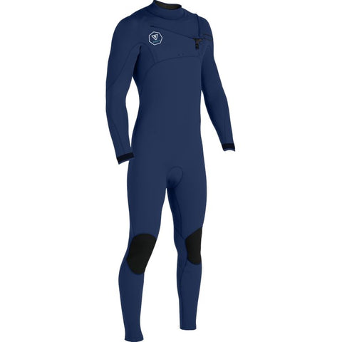 Seven Seas  4/3 Chest Zip Full Wetsuit - Dark Naval