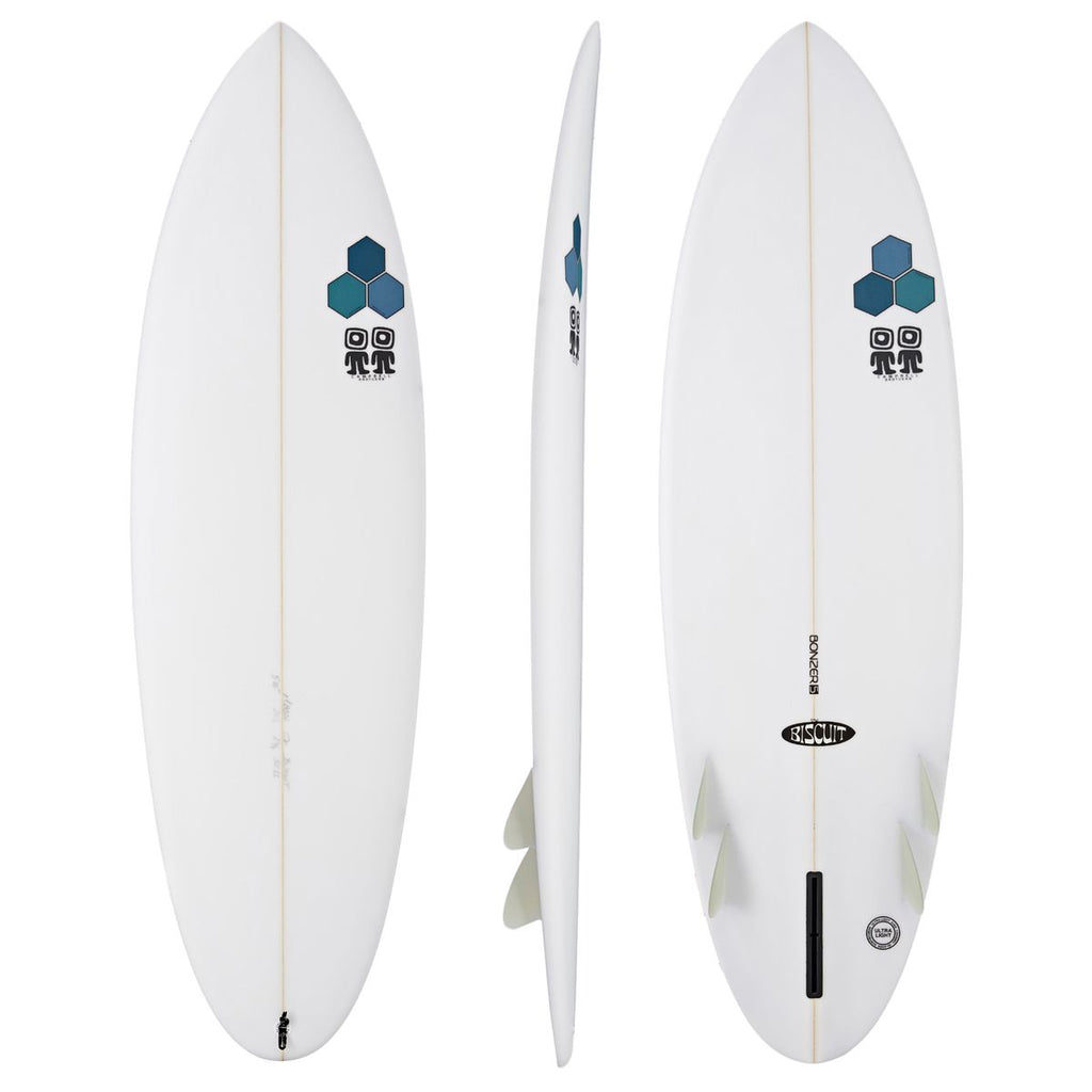 Channel Islands - Al Merrick x Campbell Brothers  Biscuit Bonzer 5'6 - WHITE