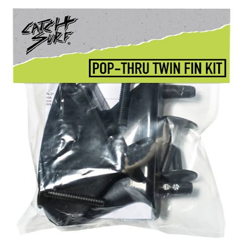 Catch Surf - Pop Thru Twin Fin Kit