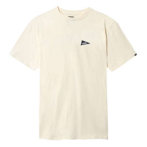 Vans - Pilgrim Surf + Supply Pennant Tee - Antique White