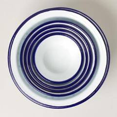 Prep Set - Original White with Blue Rim