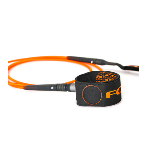 FCS - 6ft Freedom Leash - Orange