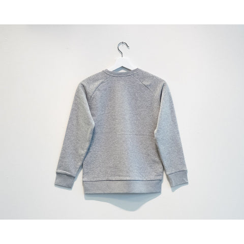 PLAY' Sweat (kids) - Heather Grey