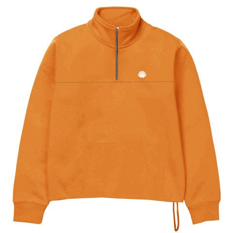 New Amsterdam Surf Association - Team Half-Zip Sweat - Orange