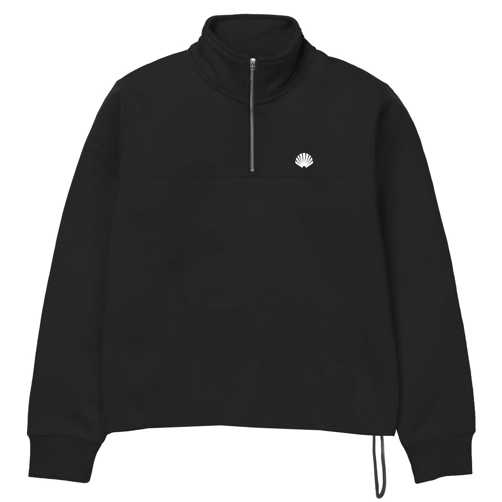 New Amsterdam Surf Association - Team Half-Zip Sweat - Black