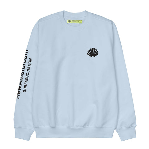 New Amsterdam Surf Association - Logo Sweat - Light Blue