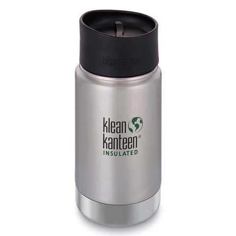 12oz Insulated Bottle & Mug - Brushed Stainless