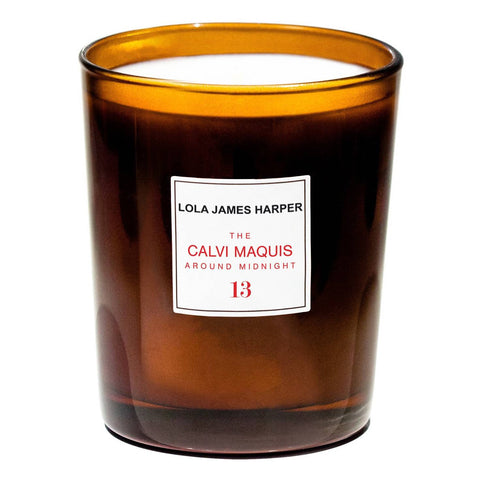 Lola James Harper - Candle #13 - The Calvi Maquis around Midnight