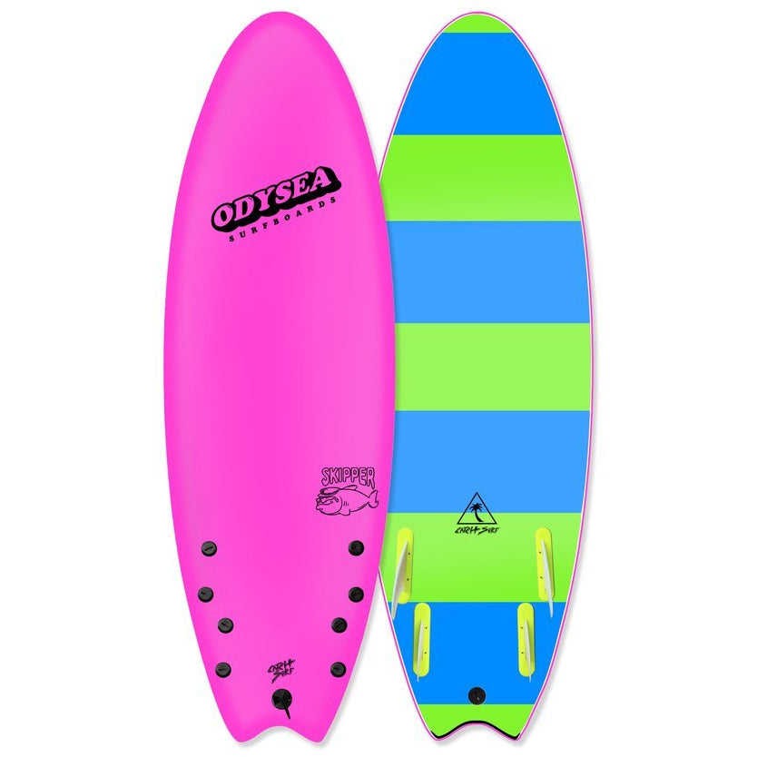 "ODYSEA Skipper 5'6"" (Quad) - Hot Pink"