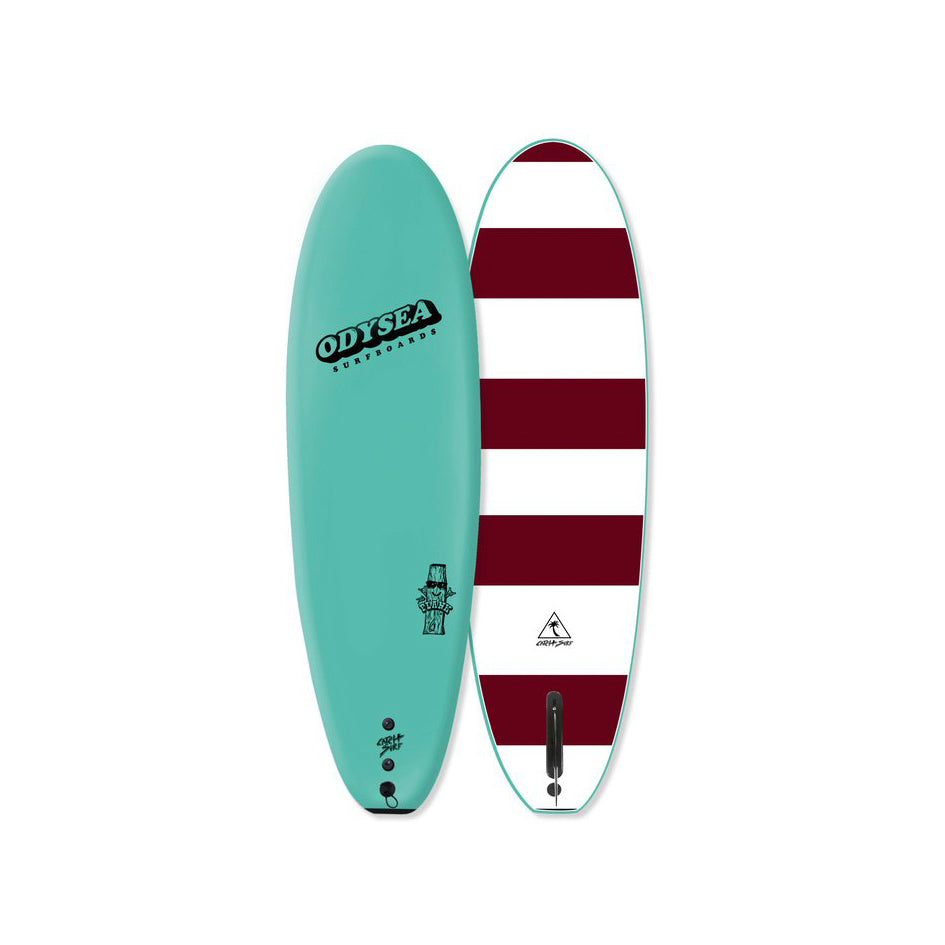 "PLANK - 6'0"" - SINGLE FIN - Turquoise"