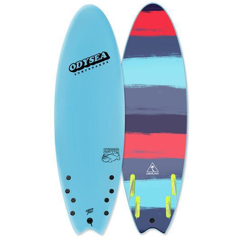 "ODYSEA Skipper 6'6"" (Quad) - Cool Blue"