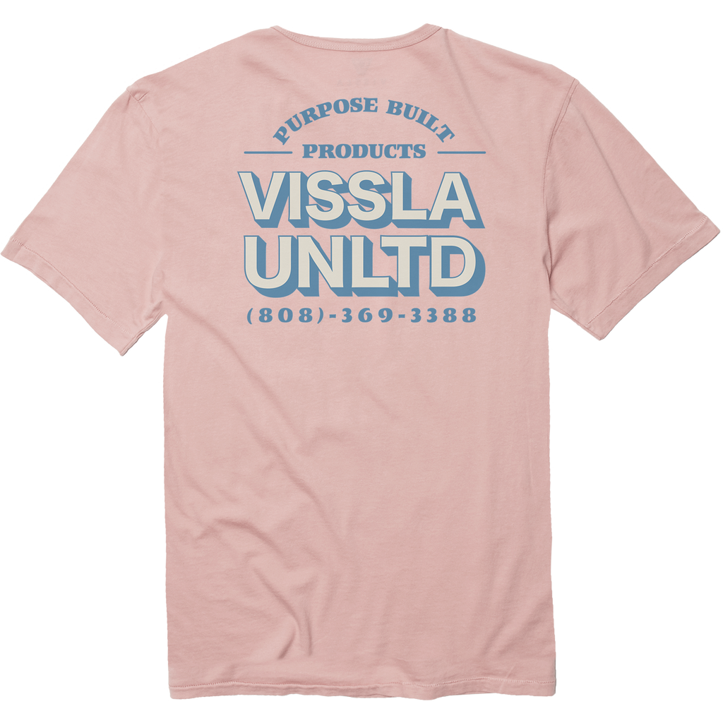 Vissla - Customer Service Pocket Tee - Streakin