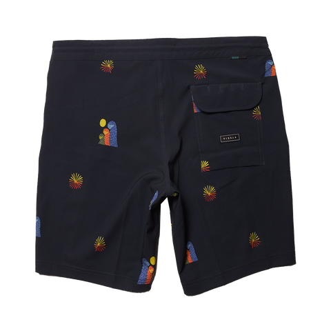 "Vissla - Boys Outside Sets 17"" Boardshort - Black"