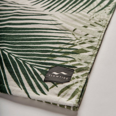 Slowtide - Hala Towel - Green