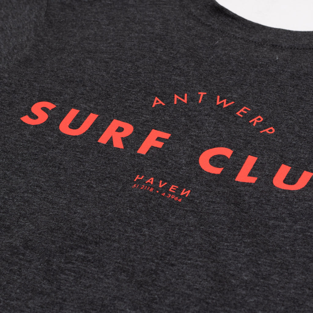 Antwerp Surf Club tee (kids) - dark heather grey