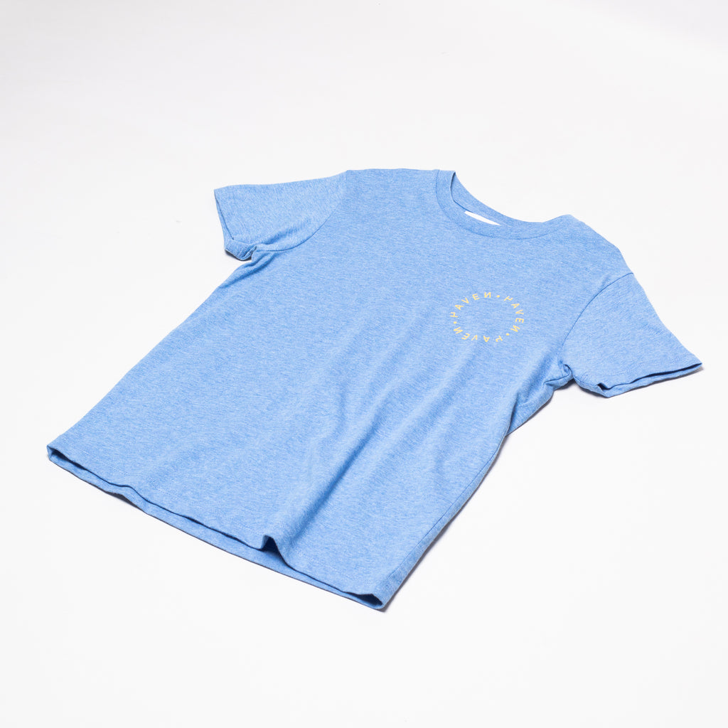 Antwerp Surf Club tee (kids) - blue