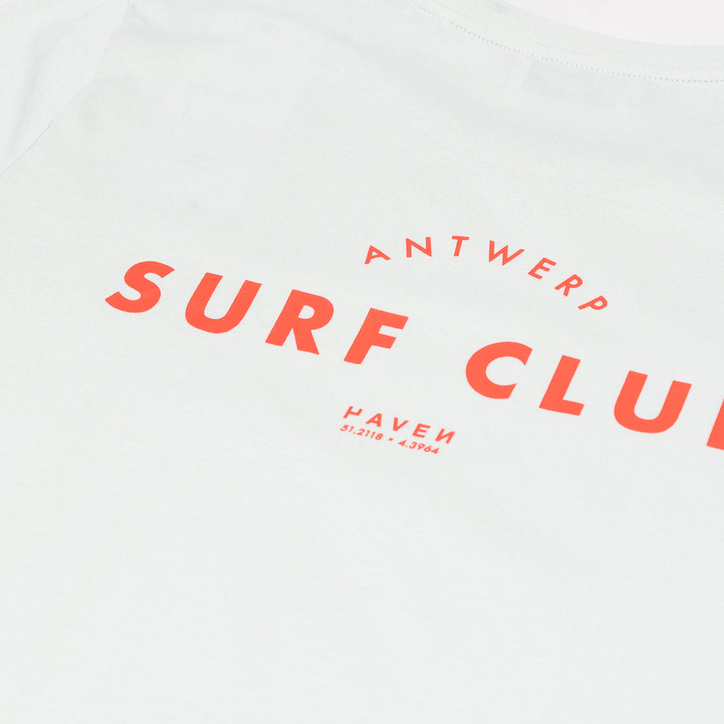 Antwerp Surf Club tee (kids) - opaline