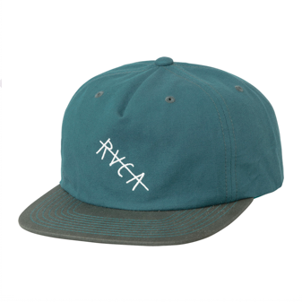 Washed Snapback - Teal