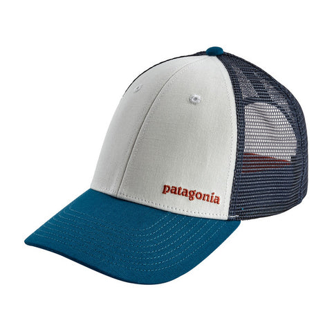 Patagonia - Small Text Logo LoPro Trucker Hat - White