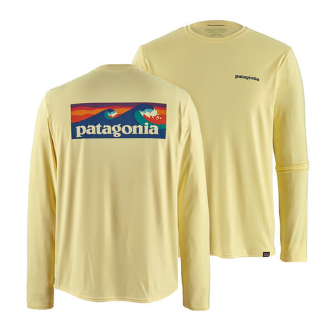 Patagonia - M's L/S Cap Cool Daily Graphic Shirt - Resin Yellow