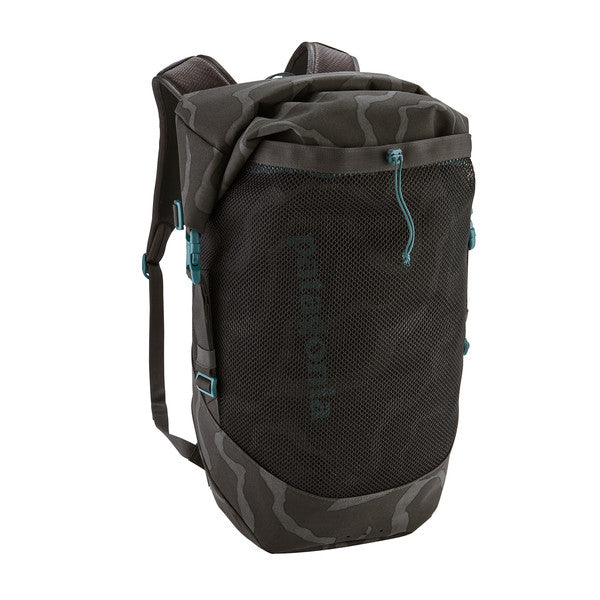 Patagonia Planing Roll Top Pack 35L - Tiger Tracks Camo/Ink Black