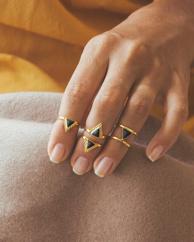 Ceramic by AVA rings