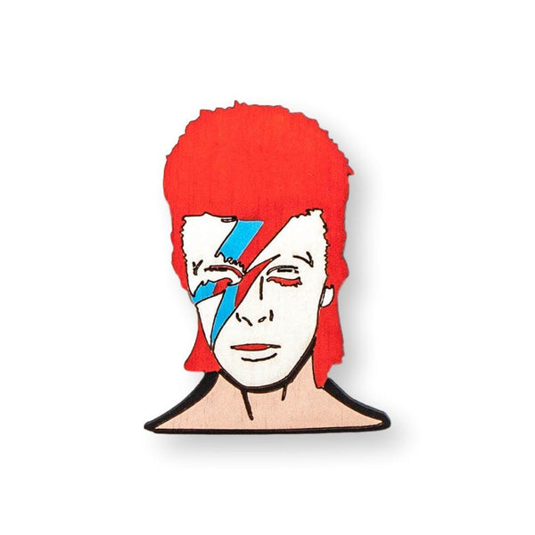 Bowie Pin Brooch Yes Please!