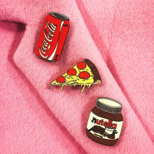 Burger Pin Brooch Yes Please!