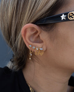 Cadillac Earrings Earrings Monsieur Blonde Jewels
