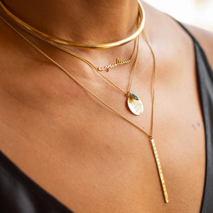 Carpe Diem Necklace Necklace by Jasmin