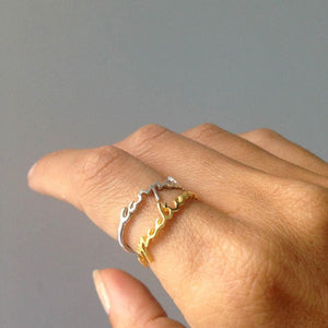 Carpe Diem Ring Ring by Jasmin